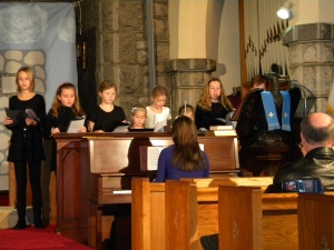 Christmas pageant choir