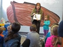 Storyteller at Sunday School