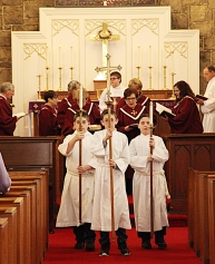 Acolytes Leading Recessional